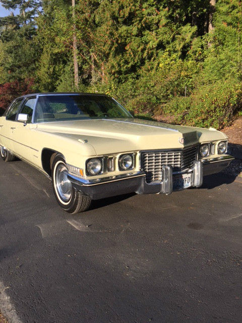 1972 Cadillac Fleetwood Brougham series 60 special ...