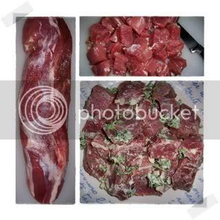 Carne de Porco à Alentejana 3