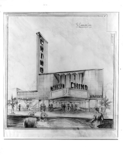 Chino Theatre drawing