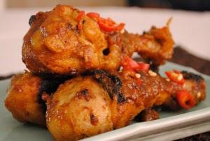 Paha ayam pangang