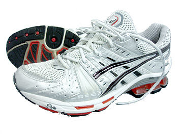 A pair of ASICS stability running shoes, model...