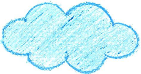 crayon cloud drawing png transparent onlygfxcom