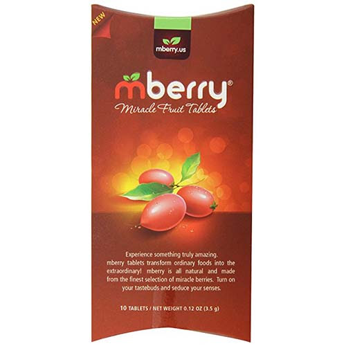 mberry Miracle Fruit Tablets | Cool Gadgets and Gizmos for You to Review