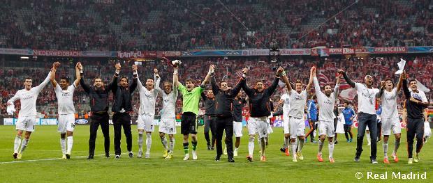 Bayern de Múnich - Real Madrid