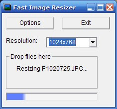 Fast Image Resizer Screenshot