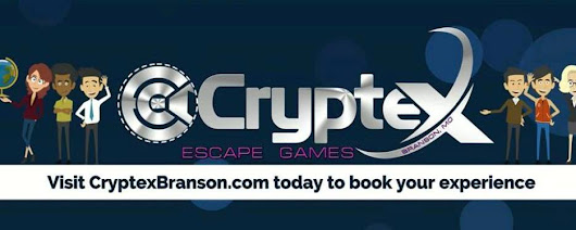 Cryptex Branson Escape Rooms