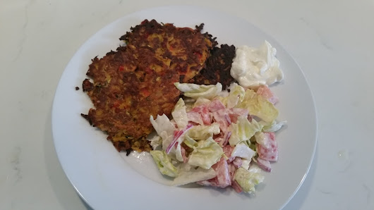 How to make Gluten Free Vegetable Fritters