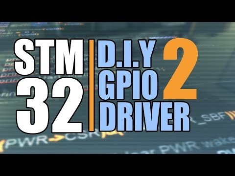 Stm32 Peripheral Drivers from Scartch : GPIO Programming Part 2