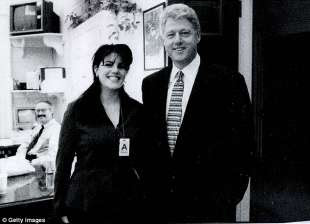monica lewinsky e bill