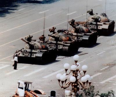 Tiananmen en 1989