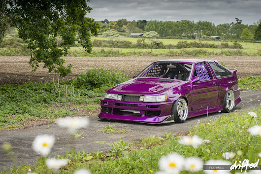 FEATURE: Purple People Eater: Hugo's New Look | Drifted | International Drifting Coverage