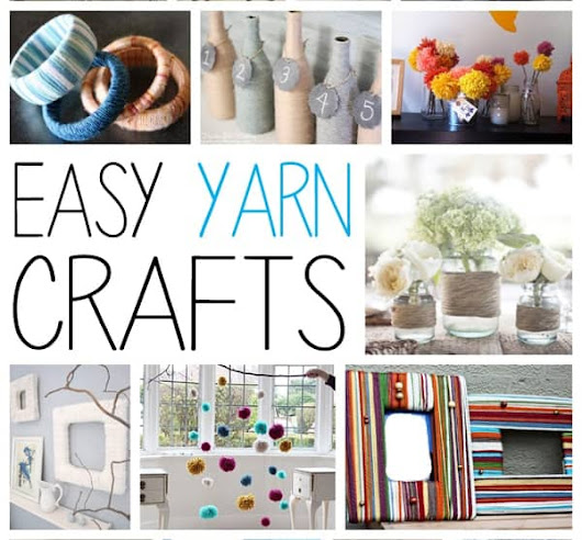 Yarn Crafts: Easy and Creative Ways to Use Yarn Without Knitting or Crocheting