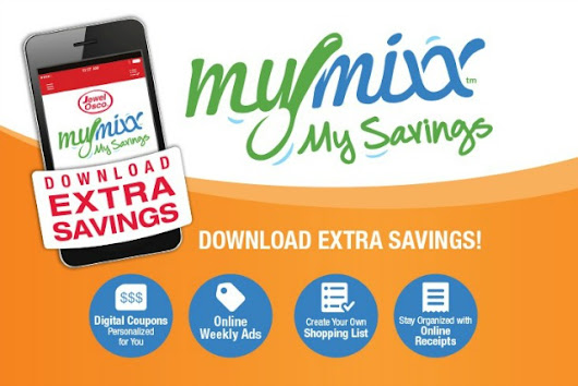 Save with MyMixx app: one-stop shopping at Jewel-Osco - Baby Dickey | Chicago, IL Mom Blogger