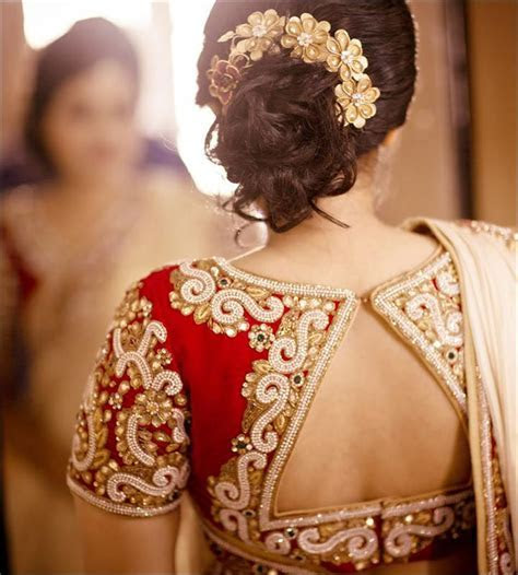 54 Blouse Back Neck Designs For The Stylish Bride 2016