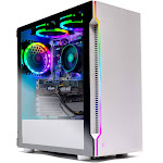 Skytech Archangel Gaming Computer PC Desktop – RYZEN 5 2600X 6-Core 3.6 GHz, GTX 1660 6G, 500GB SSD, 16GB DDR4 3000MHz, RGB Fans, Windows 10 Home