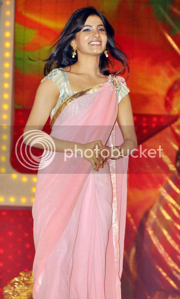 Samantha Ruth Prabhu In Saree Cute And Hot Collection
