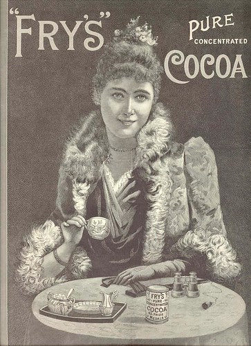 Fry's Pure Concentrated Cocoa ad, 1898