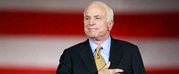 John McCain, the Maverick, was a true American hero.