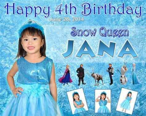 Jana's 4th Birthday (Snow Queen Frozen)   Cebu Balloons