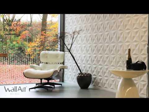 Wallart 3d wall decor panels the original brand