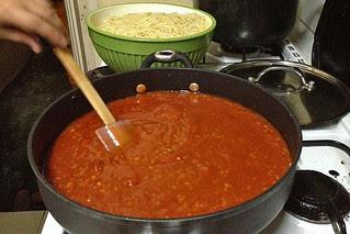 Manila - Spaghetti by my sis