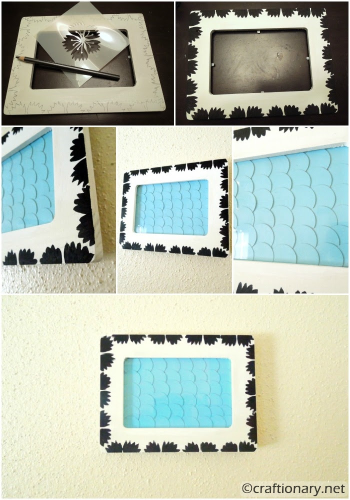 Craft Ideas Painting Picture Frames Photo Collage Frames