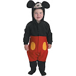 Halloween Boys' Mickey Baby Costume 12-18M, Boy's, Size: 18 Months, MultiColored