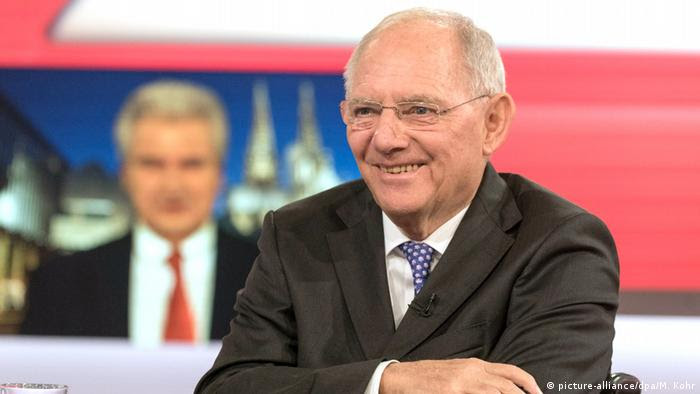 Wolfgang Schäuble bei Maischberger (picture-alliance/dpa/M. Kohr)