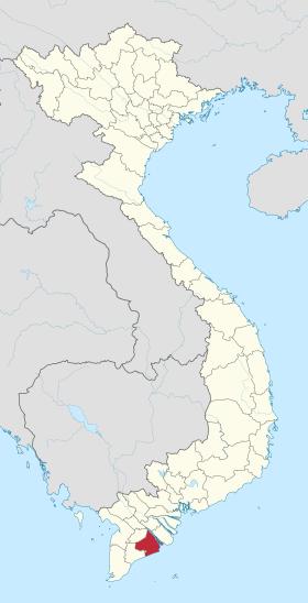 Soc Trang in Vietnam.svg