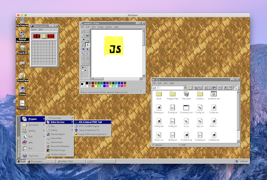 felixrieseberg/windows95