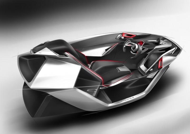 Nissan 2025 Interior Concept - Car Body Design