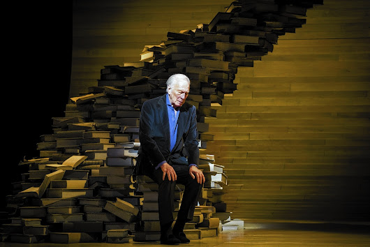 Review: Christopher Plummer, a man of letters, says 'A Word or Two'