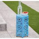 Christopher Knight Home Eliana Outdoor 12-Inch Side Table by, Blue