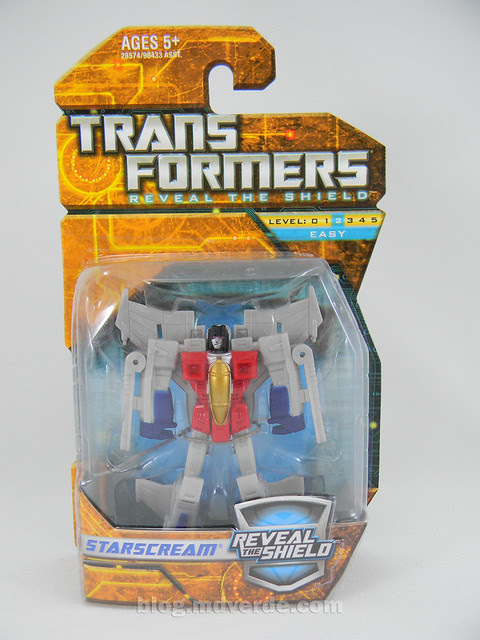 Transformers Starscream Reveal the Shield Legends - caja