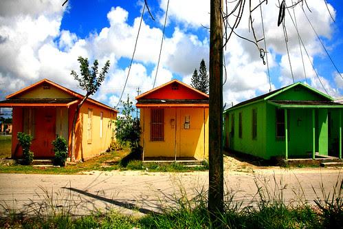 Power Pole and Shotgun Houses