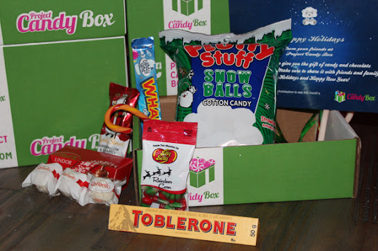Project Candy Box Holiday Box Unboxing