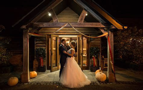Lorna & Paul's Autumnal Celebration   Sandhole Oak Barn