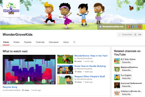 Wonder Grove Kids YouTube