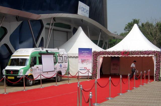 Orchid Convention Centre - Exhibition of Properties in Hinjewadi, Wakad, Baner, Balewadi & Bavdhan! - PROFEST WEST 2012 by CREDAI Pune Metro on 26 - 27 -28 October 2012 at VITS Hotel, Balewadi, Pune