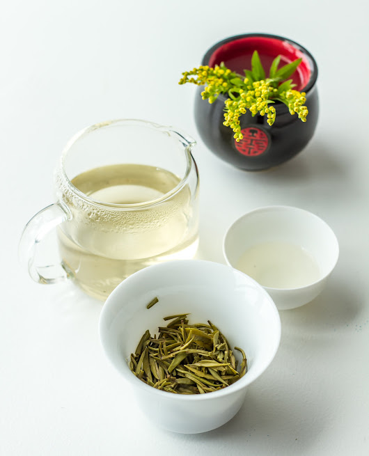 My tasting notes: Jun Shan Yin Zhen yellow tea