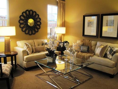 dakota contemporary living room