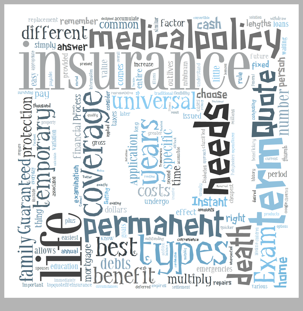 Types of Life Insurance Coverage | Top Quote Life Insurance