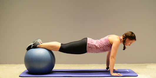 9 Of The Best Stability Ball Exercises You're Probably Not Doing