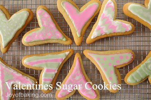Valentine's Sugar Cookies Recipe