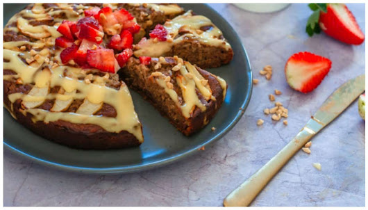 Healthy No Added Sugar Sticky Date Pudding Cake