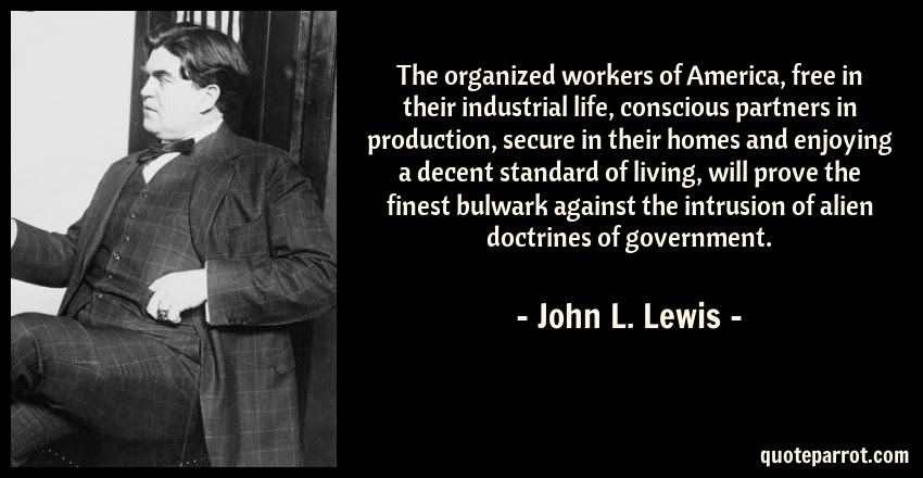 The Organized Workers Of America Free In Their Industr By John L