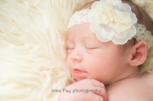 Sweet baby girl on her newborn photo session | Newborn, baby, family photography in NY and NJ Inna Fay photography