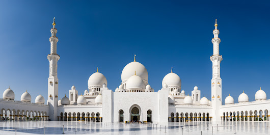 Featured Photo: Sheikh Zayed Grand Mosque - Nomad Photographer