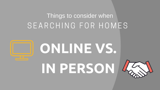 Searching For Homes Online vs. In Person
