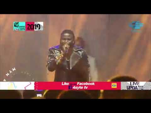 STONEBWOY PERFORMS AT 4SYTE MUSIC VIDEO AWARDS 2019